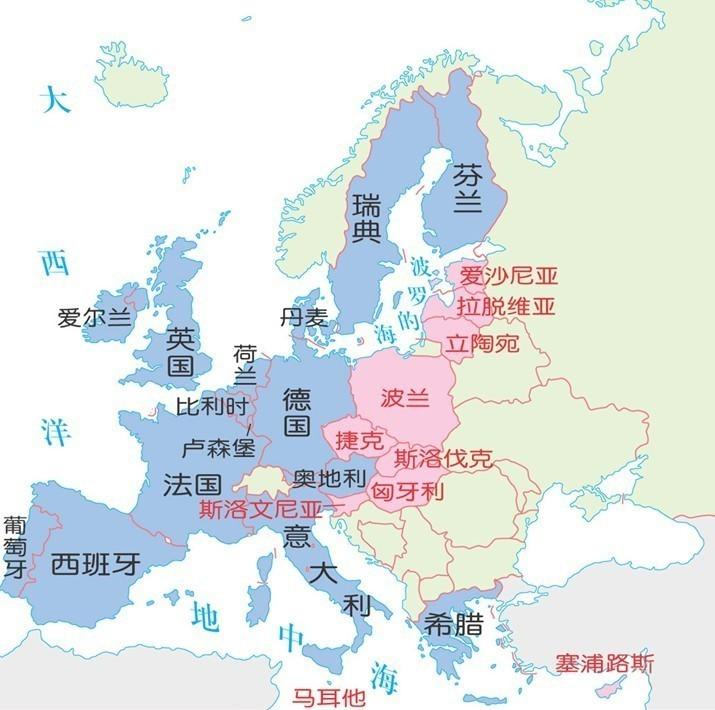 申根签证国家